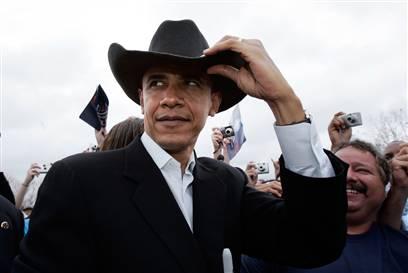 Obama Cowboy