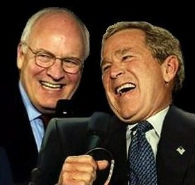 Bush Cheney Laugh
